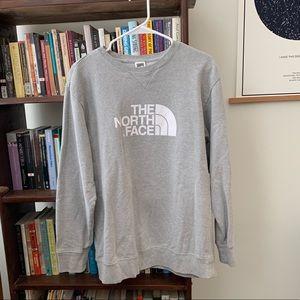 Men's Large North Face crewneck sweatshirt